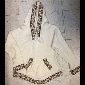 Alpaca Warehouse Yard Hooded Sweater Sz S
